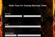 Electronic Forms / Electronic Forms can work very well with your website when you need order forms or adoption agreements, request forms, contact forms, applications etc. Whatever your needs, we can create them for you. Fill out the Electronic form below to request a quote or discuss options.  http://www.pawprintswebdesign.com/web-bannerselectronic-forms.html