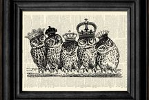 Owly Owls / by Valentina