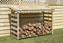 Log And Garden Storage / Quality Timber Log and Garden Storage