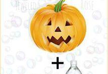 Halloween classroom