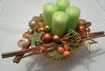 Advent,dekorace