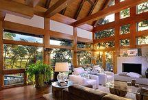 Beautiful Wood Natural Windows