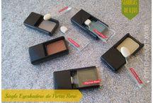 Pierre René / Productos de Pierre René, en especial swacthes de sus sombras