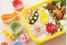 Emporte-pièces / Emporte-pièces pour transformer votre nourriture en smileys ou autre formes mignonnes pour des bento trop kawaii. Dispo sur www.shikaco.com