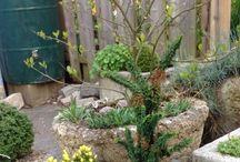 Taş bahçe süsleme