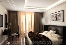 спальня в особняке во владикавказе
