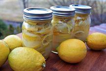 Conserve - Marmellate / Limoni in sciroppo