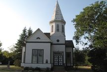 Country churches & schoolhouses / Country churches & schoolhouses / by Petticoats & Pistols