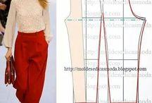 Cartamodelli pantaloni
