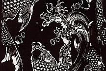 Japanese katagami patterns