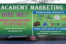 Academy Marketing / The Academy Marketing is a company based in New Zealand which offers a wide range of products such as pens, apparel, headwear, bags, umbrella and much more.
