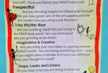 ArtEd- Rules, Behavior