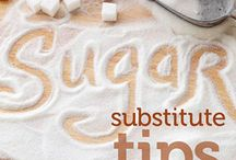 Substitutes to suger