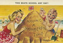 Vintage Postcards ❤