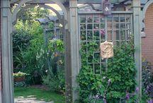 Ландшафт, малые формы в саду