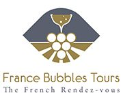 France Bubbles Tours / We propose semi-private tours that include transportation in comfortable minibuses, selected hotels located in Champagne, daily departure from Reims tourist office, guided tour with Professional licensed guides, tour and wine tasting at world famous champagne houses and high quality family champagne makers, tours of vineyards and Grand Cru route.  Private tours for FIT's and customisation of tours are part of our daily missions. Only 45 minutes from Paris by TGV train.