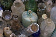 ßottled Up / old glass bottles