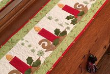 Table toppers / patchwork