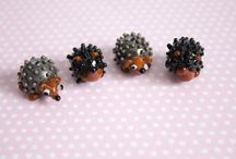Hedgehog Beads