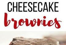 Cheesecake Brownies & Bars