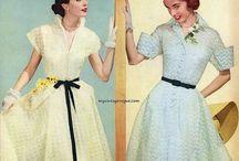 Мода 1950х