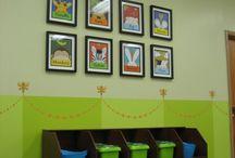Nursery / Kids Room Ideas / Ideas for Church Nursery or Kidz Church Rooms! / by Critty Creations