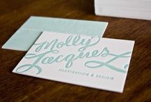Business cards, logo / Business cards, logo