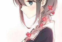 Anime/ Manga girl