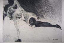 Pin-Up Art by BRÚNING, Max / 1887 - 1968