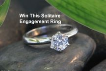 We Are Giving Away a Solitaire Diamond Engagement Ring Valued at $7000 / All you have to do to enter is provide your name, email address and tell us your story on why you deserve to win this Solitaire Diamond Engagement Ring. We appreciate you sharing this with your friends! http://woobox.com/jqvguz