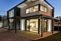 Modern Home Exteriors / This board features homes that defy the traditional. Their exteriors are modern, architecturally interesting and feature James Hardie cladding products