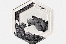 Illus. / Papercraft / Stencil / Cut Paper