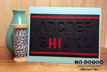 Stampin' Up!- Little Letters Thinlits