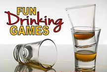 PARTIES / drinks ideas drinking games etc