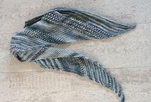 Gebreide sjaal / Gebreide sjaal