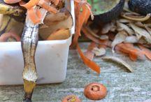 Qu'est ce qu'on met au compost ? / N'ayez plus peur de mettre vos déchets au compost. La preuve en image !