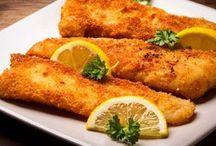 peixe crocante