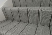 Off The Loom Stair Runner | Whalton 1 (Field) manufactured 1.05 for fully fitted stairs
