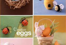 Crafty me: eggs