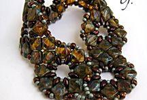 silky beads..