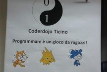 Coderdojo Ticino / Girl Geek Dinners Ticino con il patrocinio di SUPSI DTI e grazie agli sponsor propongono una nuova attività, fin'ora mai proposta in Ticino, che ha lo scopo di avvicinare i ragazzi dai 6 ai 12 anni alla programmazione.