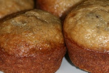 Perfect banana muffins with vanilla / Perfect banana muffins