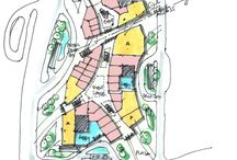 shopping mall site plan