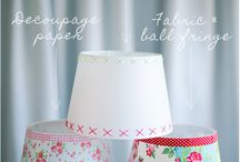 Chandeliers and lampshades