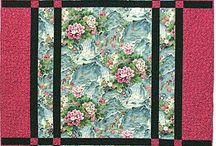 Large Print fabric quilt ideas / Quilt ideas for those fabrics you can't bare to cut