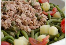 Insalate varie / Insalate di verdura, patate, miste in genere anche con carne