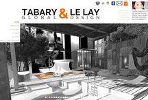 TABARY & LE LAY Global Design / ABOUT US L'agence TABARY & LE LAY offre une approche globale :   Au moyen de l'architecture pour définir les volumes qui constituent la structure : partir de rien et concevoir votre projet dans le respect de tous les paramètres pratiques et conceptuels et donner ainsi une forme fonctionnelle et originale qui s'intégrera parfaitement à l'environnement,