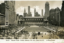 From the Archives / Our archivist, Anne Kumer preserves the history of the park, and reminds us to keep the past and present connected.  / by Bryant Park