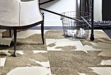 Making Carpet Cool Again  / Trendy and bold carpet ideas