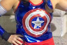 Avengers Running Costumes